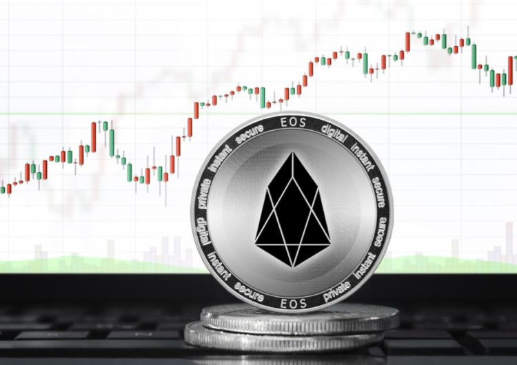 EOS continues to leave top cryptos in the dust