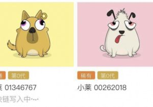 'China's Google' jumps on the blockchain-based game with digital pooches