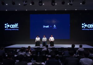 Big announcement during aelf press conference in Korea