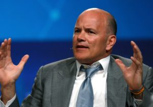 Mike Novogratz poked a little fun at a segment on the financial-news network