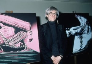 Andy Warhol Art To Be Sold For Bitcoin Via Ethereum Blockchain