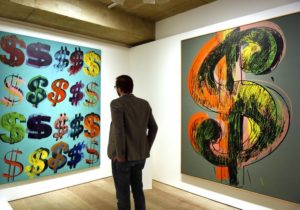 How Much Bitcoin Would You Spend on a Warhol?