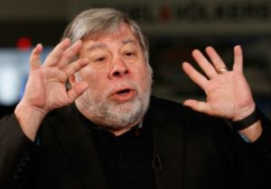 Steve Wozniak says the hype around blockchain signals a bubble