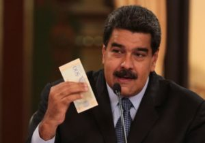 Venezuela just devalued the bolivar by 95% and pegged it to a cryptocurrency