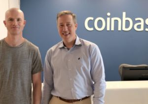 Cryptocurrency start-up Coinbase valued at $8 billion despite bitcoin's plunge