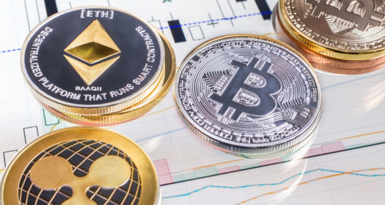 Bitcoin, Ethereum, and Ripple sink lower after crypto bull trims 2018 forecasts