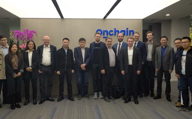 Danish Blockchain Delegation Visits Ontology