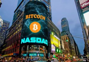 Bitcoin, Ethereum, and Ripple storm higher on Nasdaq news