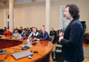 The NEM Ukraine team filled National bank of Ukraine in on blockchain technology