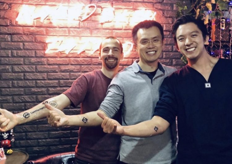 Cryptocurrency founders show true love for their start-ups with tattoos of company logos