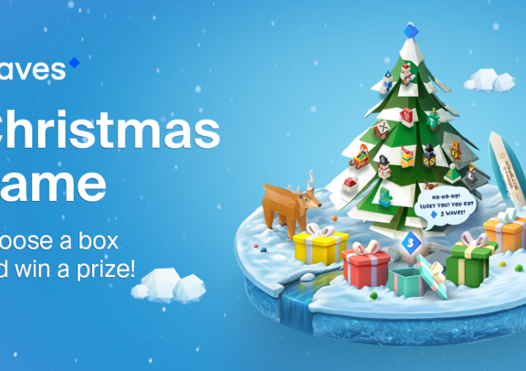 Waves Released a Blockchain-Based Christmas Game