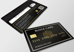 Ternio Introduces CryptoCurrency BlockCard™ Enabling Users to Spend Bitcoin, Ethereum, and Stellar Lumens Anywhere Credit Cards Accepted.
