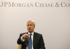 Jamie Dimon's Cryptocurrency Master Plan Swipes At Swift