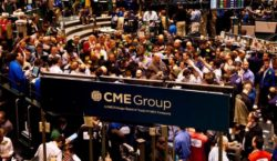 CME bitcoin futures volumes surpassed other bitcoin spot exchanges, says…