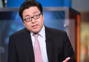 Fundstrat Global Advisors' Thomas Lee: Bitcoin is back with a vengeance