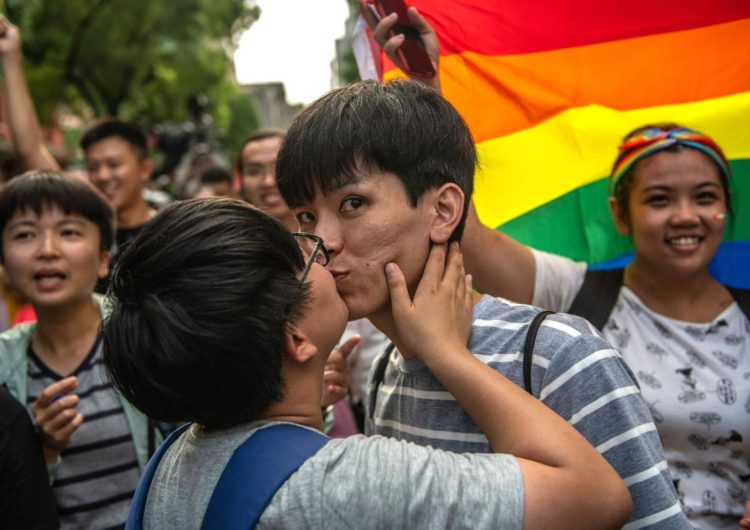 Advocates hope Taiwan's same-sex marriage decision will spark 'ripple effect' across Asia