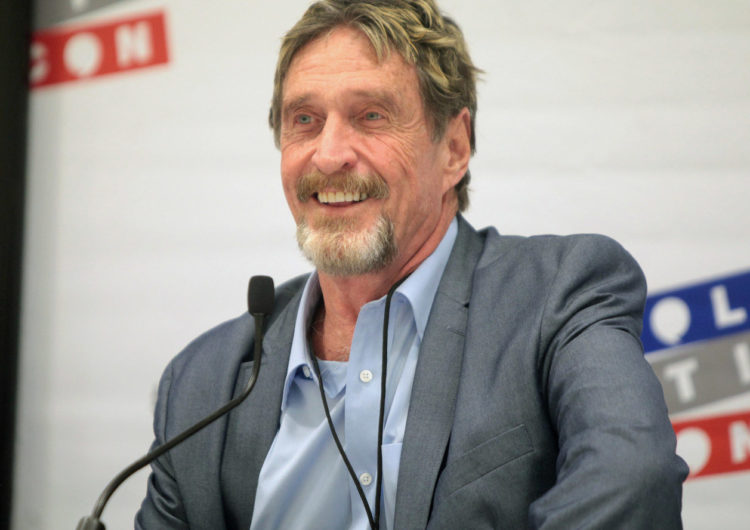John McAfee Bashes Bitcoin and Ethereum but Touts 'Adorable' Dogecoin
