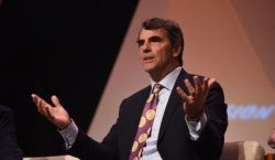 Silicon Valley's Tim Draper, wearing a bitcoin tie, says crypto…