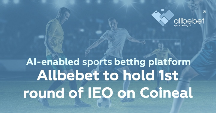 Coineal launches Allbebet tokensale