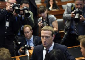 Zuckerberg's day in Congress brings crypto to the fore
