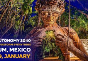 Autonomy 2040 calls for innovators and enthusiasts to jointly reveal the key factors of the economic evolution